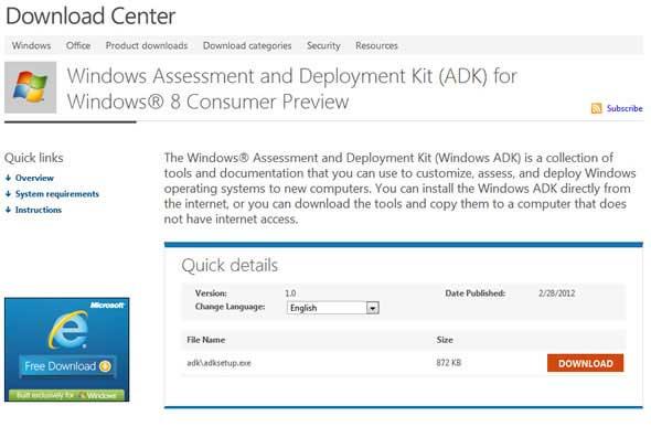Переносная Windows 8 на флешке