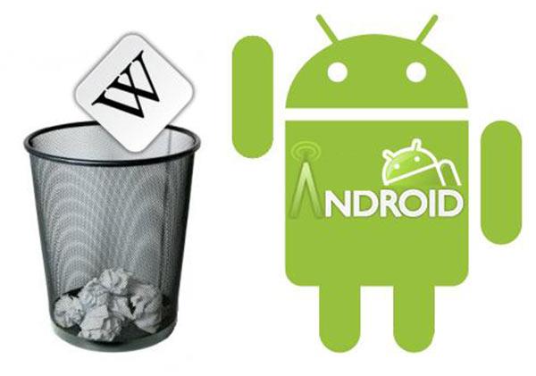 удалить встроенные приложения Android