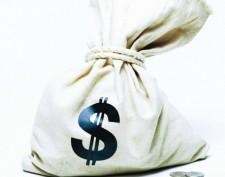 мешок с деньгпми