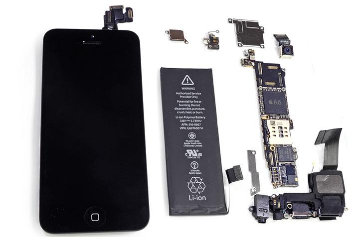 iPhone 5S вутри