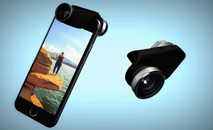 Набор съемных объективов для iPhone