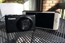 iphone 6 против фотоаппарата