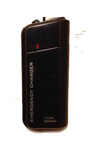 Зарядное устройство для айфона noname c двумя батарейками АА