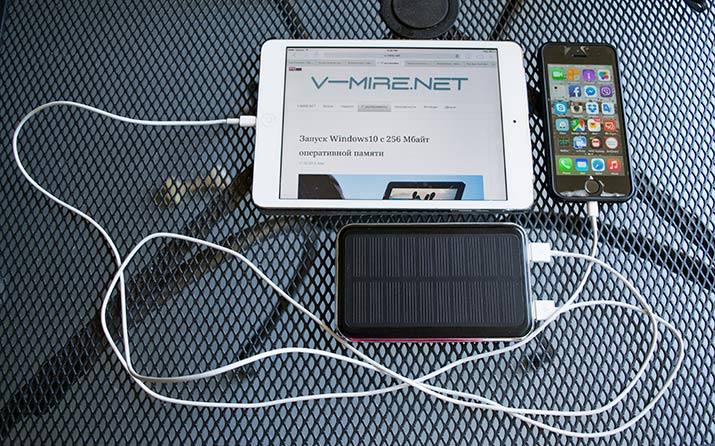 ALLPOWERS™ 10000mAh Solar Battery Charger.