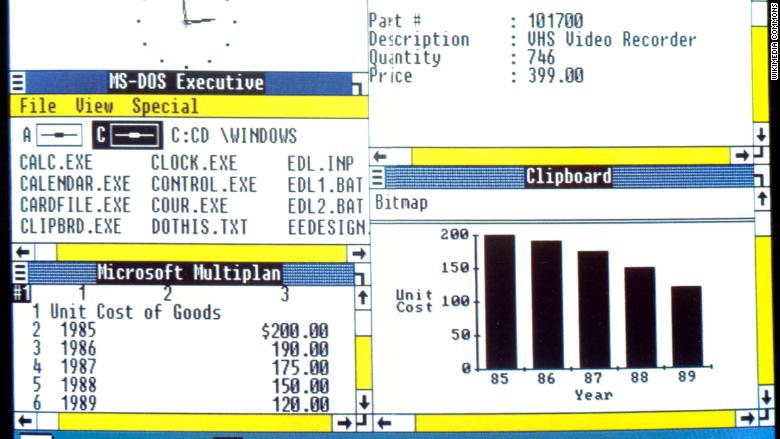 Эволюция Windows за 30 лет