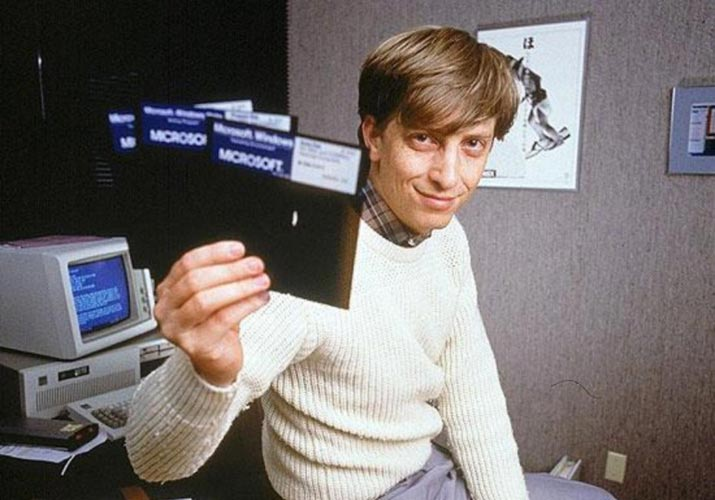Гейтс, Билл 1985