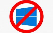 Убрать сообщение обновить до Windows 10