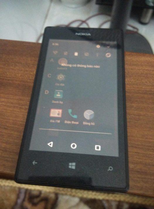 Телефон Nokia Lumia 520 заработал с прошивкой Android 7 1 Nougat