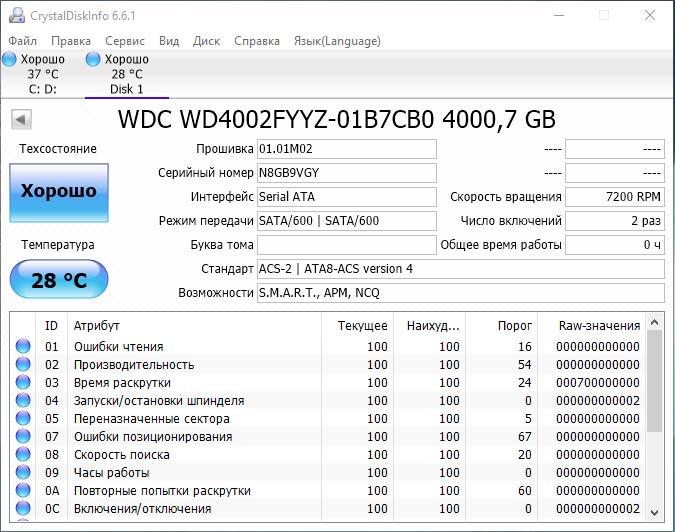 Тестируем жесткий диск WD Gold